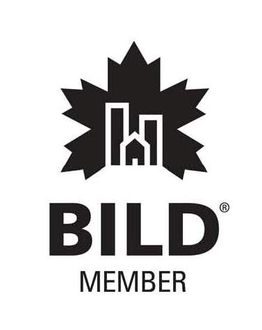 Bild Logo with black lettering and on a whit background