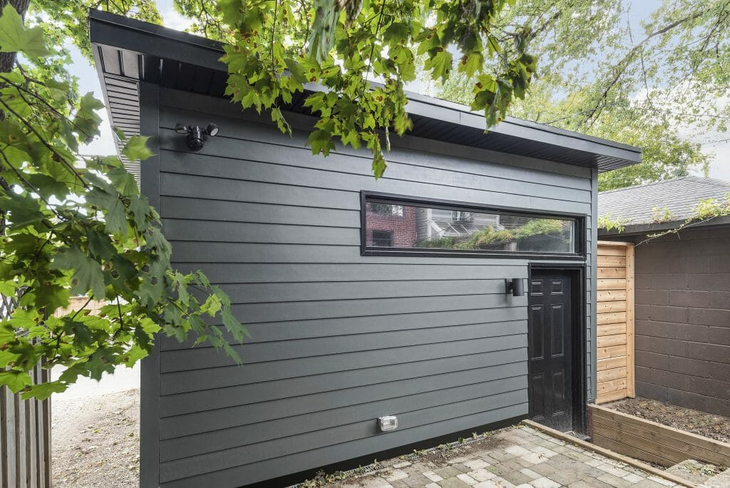Bain ave design build project garage