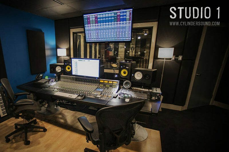 Design Build Toronto Cylinder Sound Studio